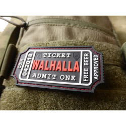 JTG WALHALLA TICKET - Odin approved Patch, blackmedic /...