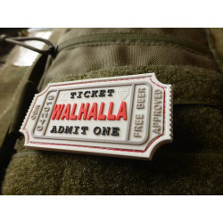 JTG WALHALLA TICKET - Odin approved Patch, white / JTG...