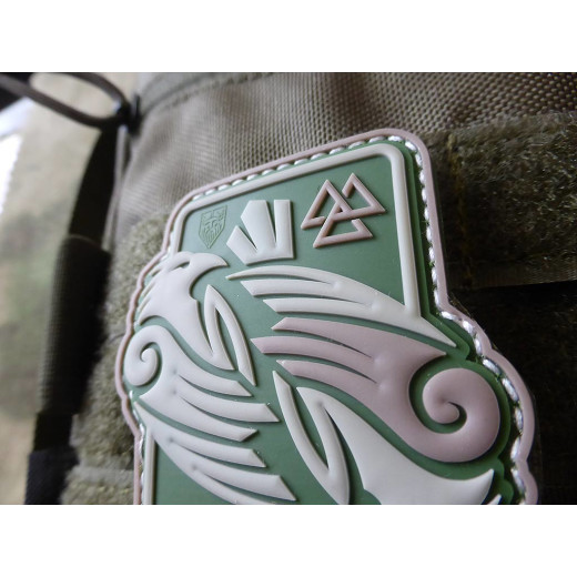 JTG Odins RAVEN Patch, multicam / JTG 3D Rubber Patch