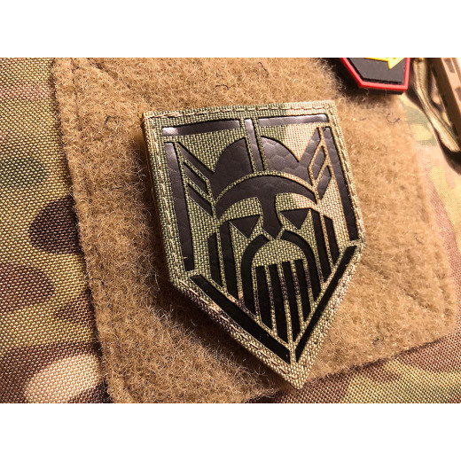 JTG ODIN Lasercut Patch, multicam / Infrarot Patch - Cordura Lasercut, MILSPEC IR TAB, custom made
