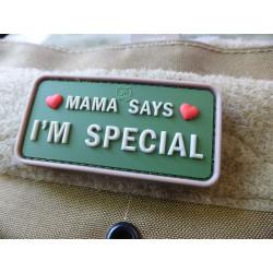 JTG MAMA SAYS - I´M SPECIAL Patch, multicam / JTG...