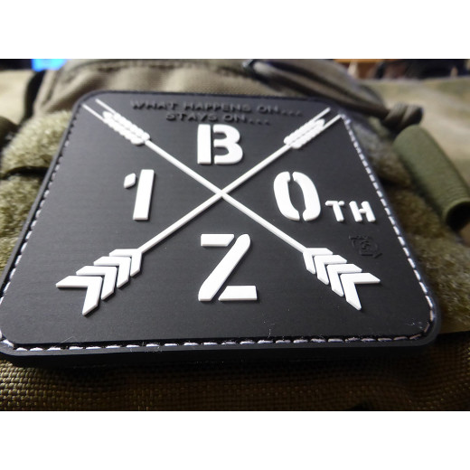 JTG BEERZONE 10th Jubiläums Patch / JTG 3D Rubber patch