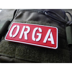 JTG ORGA Patch, rot-weiss / JTG 3D Rubber Patch