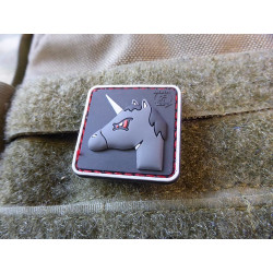JTG ANGRY UNICORN Patch / JTG 3D Rubber Patch
