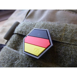 JTG  Deutschland Flagge Hexagon Patch, fullcolor  / JTG...