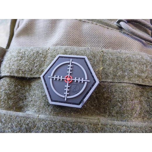 JTG  SNIPER Scope, Hexagon Patch, swat  / JTG 3D Rubber Patch, HexPatch