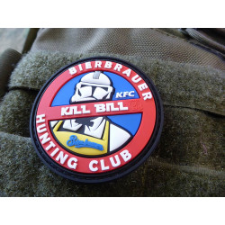 JTG  KILL BILL BIERBRAUER HUNTING Patch  / JTG 3D Rubber...