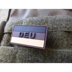 JTG  Deutschland Flaggen Patch mit DEU, desert, klein  /...