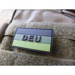 JTG  Deutschland Flaggen Patch mit DEU, forest, klein  /...