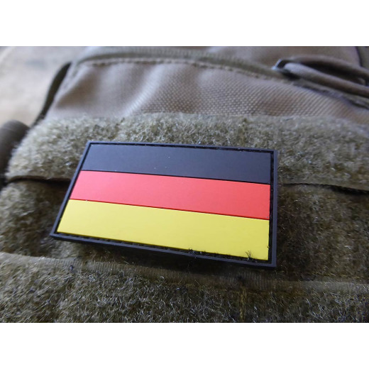 JTG  Deutschland Flaggen Patch, fullcolor, klein  / JTG 3D Rubber Patch