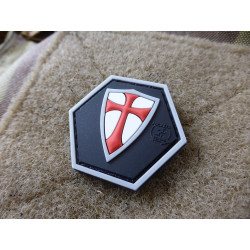 JTG RECTE FACIENDO SCHILD Hexagon Patch  / JTG 3D Rubber...