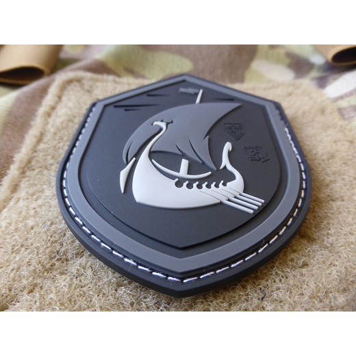 JTG DRAGONSHIP AT NIGHT Patch, blackops / JTG 3D Rubber Patch