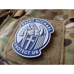 JTG SAINT MICHAEL PROTECT US Patch, lightblue / JTG 3D...