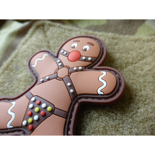 JTG BONDAGED GINGERBREAD Patch / JTG 3D Rubber Patch
