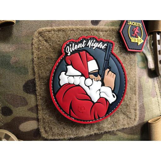 JTG SILENT NIGHT OPERATOR Patch, Special Edition / JTG 3D Rubber Patch