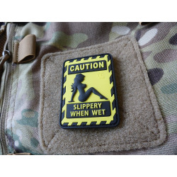 JTG SLIPPERY WHEN WET Patch / JTG 3D Rubber Patch