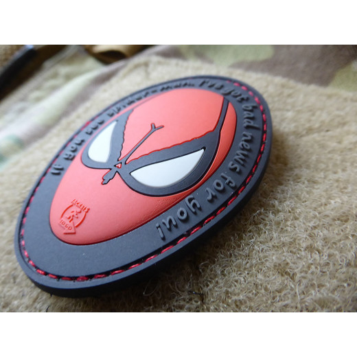 JTG SPIDERBOOBS Patch / JTG 3D Rubber Patch