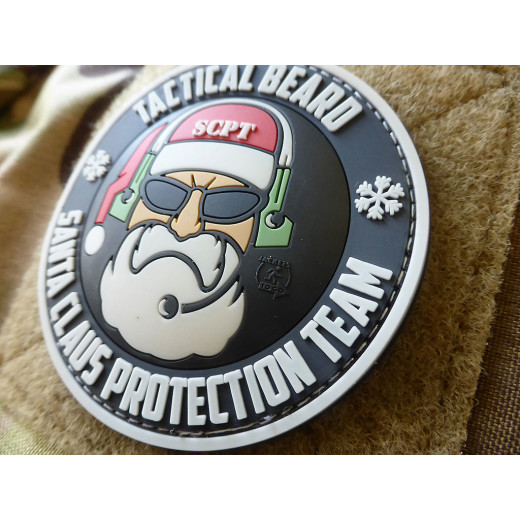 JTG TACTICAL BEARD SANTA CLAUS PROTECTION TEAM Patch, Special Edition / JTG 3D Rubber Patch