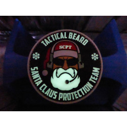 JTG TACTICAL BEARD SANTA CLAUS PROTECTION TEAM Patch, gid...