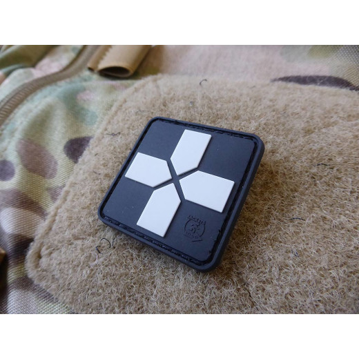 JTG RedCross Medic Patch, 40mm, swat / JTG 3D Rubber Patch