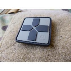 JTG RedCross Medic Patch, 40mm, steingrau oliv / JTG 3D...