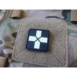 JTG RedCross Medic Patch, 40mm, gid / JTG 3D Rubber Patch