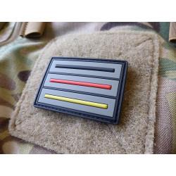 JTG 3 Linien Taktischer Deutschlandflagen Patch, 3c /...