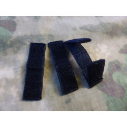JTG MOLLE Patch Field Strip 3 piece Set, black