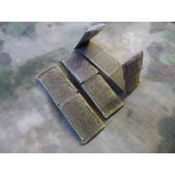 JTG MOLLE Patch Field Strip 3er Set, coyote brown