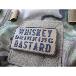 JTG WHISKEY DRINKING BASTARD Patch, coyote brown / JTG 3D...