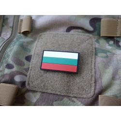 JTG  Bulgarischer Flaggen Patch, fullcolor, klein  / JTG 3D Rubber Patch
