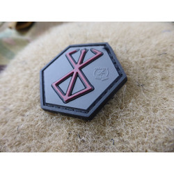 JTG Berserker Rune, Hexagon Patch / JTG 3D Rubber Patch,...
