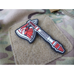JTG ODINS AXT Patch, fullcolor / JTG 3D Rubber Patch