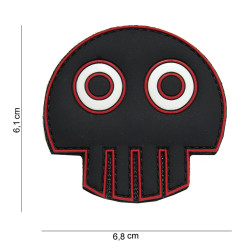 Big Eye Skull / Patch 3D PVC
