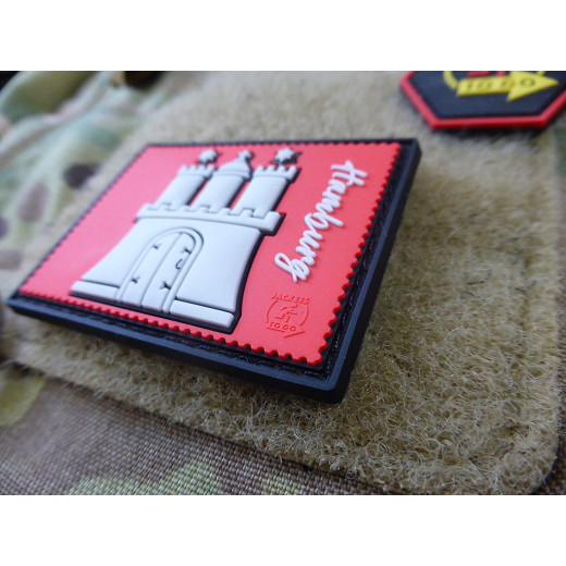 JTG HAMBURG Stamp Collection Patch / JTG 3D Rubber Patch