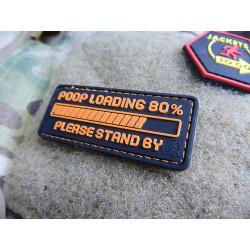 JTG POOP LOADING Patch, fragrant orange / JTG 3D Rubber...