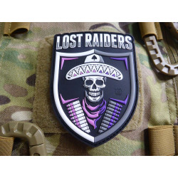 JTG LOST RAIDERS Patch, fullcolor / JTG 3D Rubber Patch