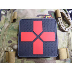 JTG Big RedCross Medic Patch, 100mm, blackmedic  / JTG 3D...