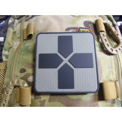 JTG Big RedCross Medic Patch, 100mm, steingrau olive  /...