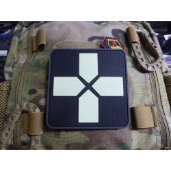JTG Big RedCross Medic Patch, 100mm, gid / JTG 3D Rubber...