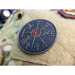 JTG VEGVISIR VIKING COMPASS Patch, blackops / JTG 3D...