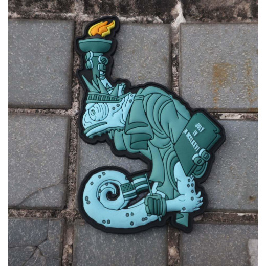 Tactical Chameleon Legion Liberty Statue Patch