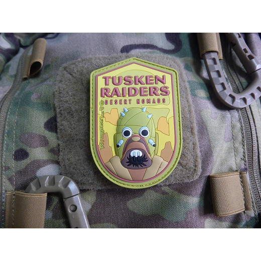 STAR WARS TUSKEN RAIDERS Patch, PVC 3D Rubber Patch