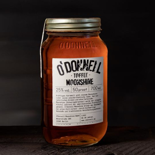 O´Donnell TOFFEE (700ml, 25%vol.)