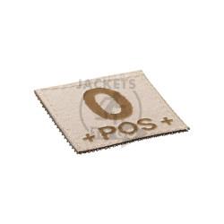 0 +POS+ Bloodgroup Patch, Desert
