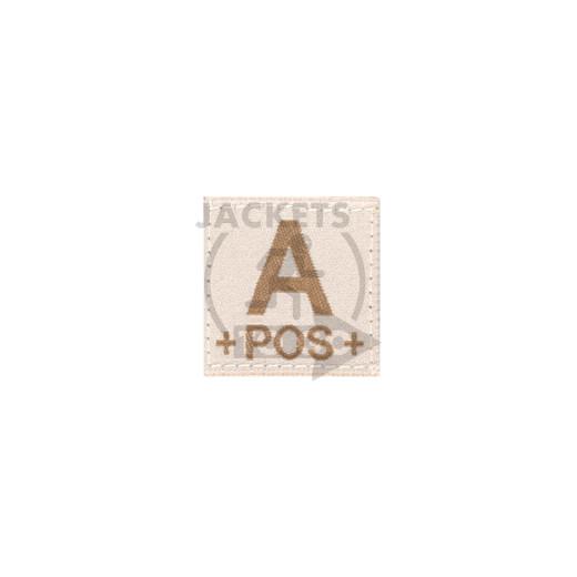 A +POS+ Bloodgroup Patch, Desert