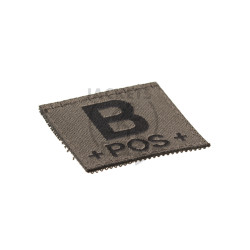 B +POS+ Bloodgroup Patch, RAL7013