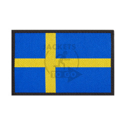 Sweden Flag Patch, Fullcolor