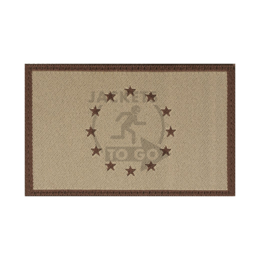 EU Flag Patch, Desert