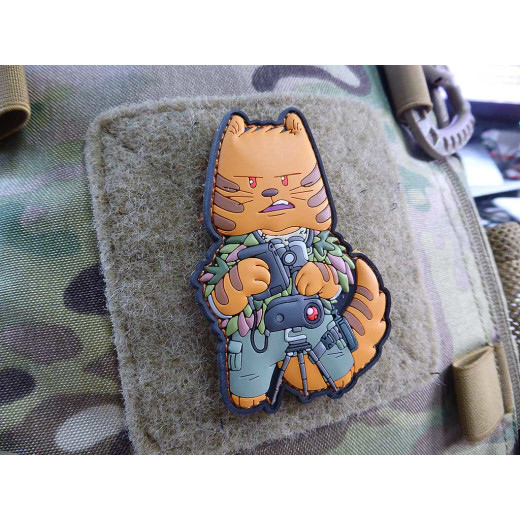 TACCAT Tactical Cat Squad Spotter, Patch by HIWEZ